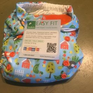 Brand new tots bots cloth diaper chicken little
